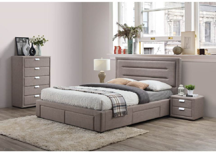 Caren 4pce queen size bedroom suite jar furniture for Bedroom furniture brisbane