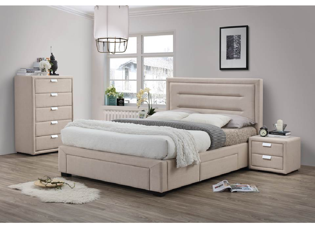 caren 4pce queen size bedroom suite jar furniture