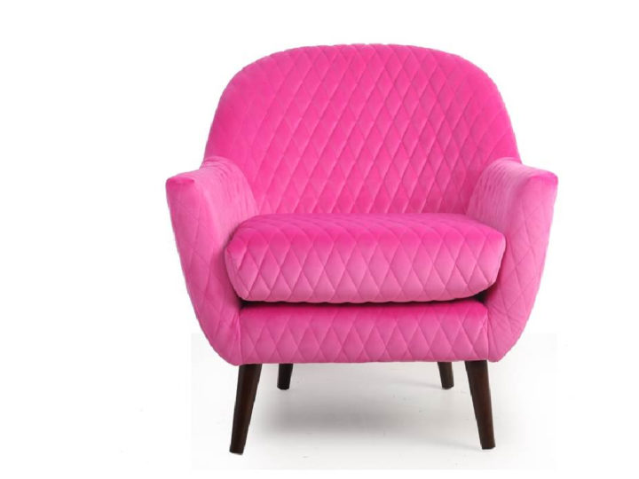 New Orleans accent chair in Pink
