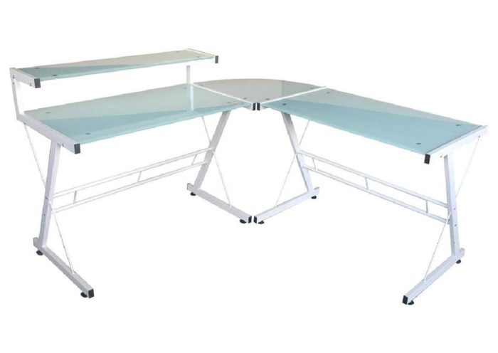 lex desk in White