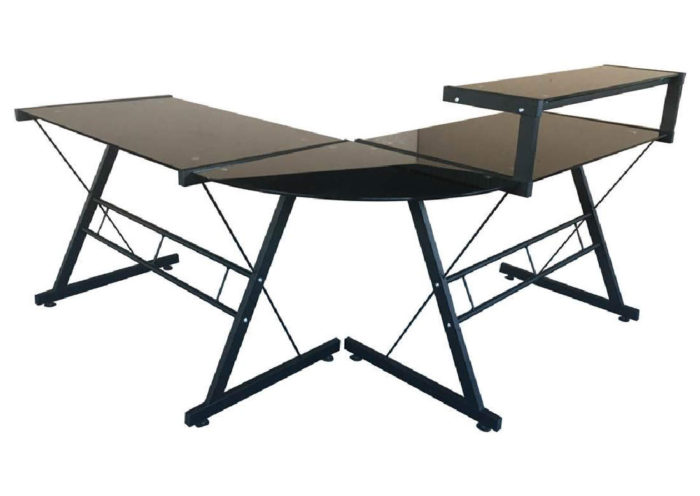lex desk in black