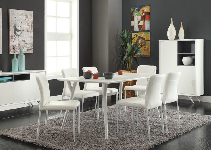 Cara 7pce dining Setting
