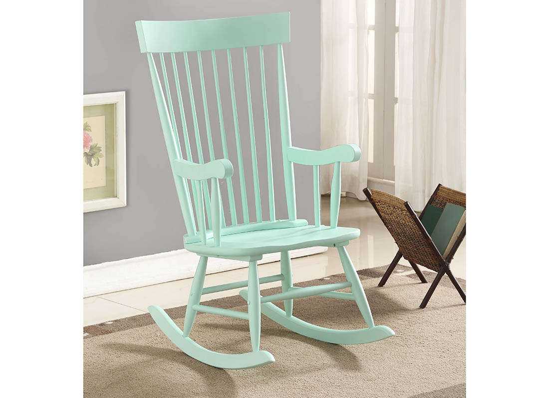 ... Ruby Rocking Chair Pink