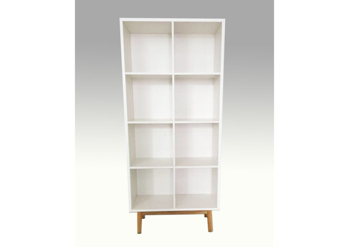 Snow Large Bookcase