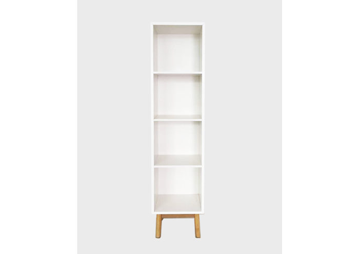 Snow Small  Bookcase
